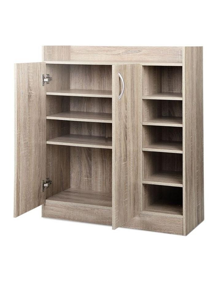 2 Doors Shoe Cabinet Storage Cupboard image 3