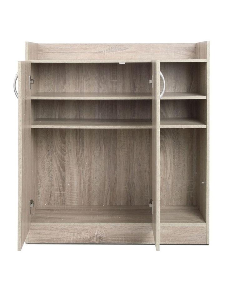 2 Doors Shoe Cabinet Storage Cupboard image 4