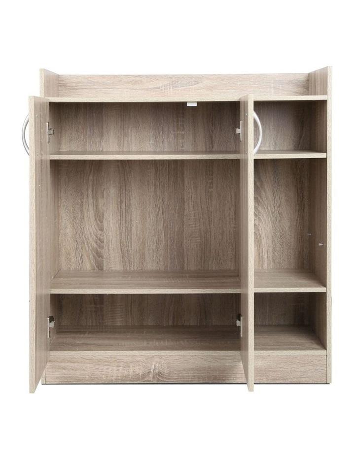 2 Doors Shoe Cabinet Storage Cupboard image 5