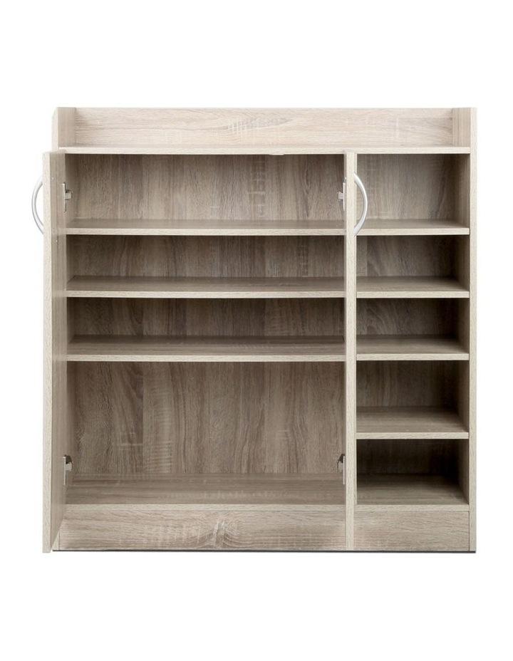 2 Doors Shoe Cabinet Storage Cupboard image 6