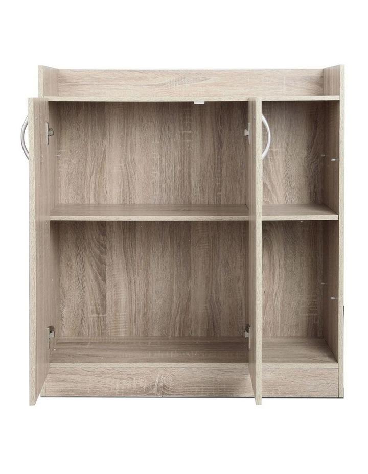 2 Doors Shoe Cabinet Storage Cupboard image 7