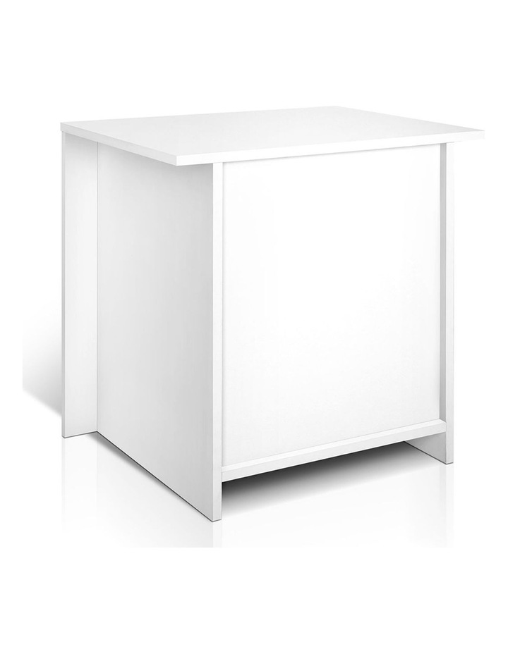 Artiss Bedside Tables Drawers Storage Cabinet Drawers Side Table White image 4