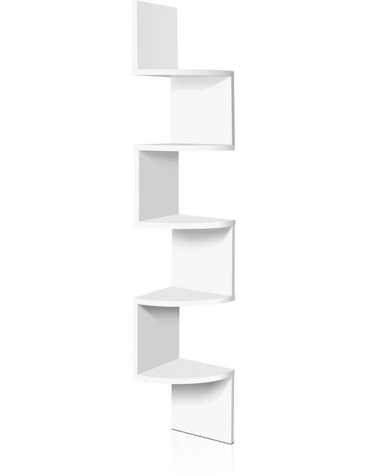 5 Tier Corner Wall Shelf image 1