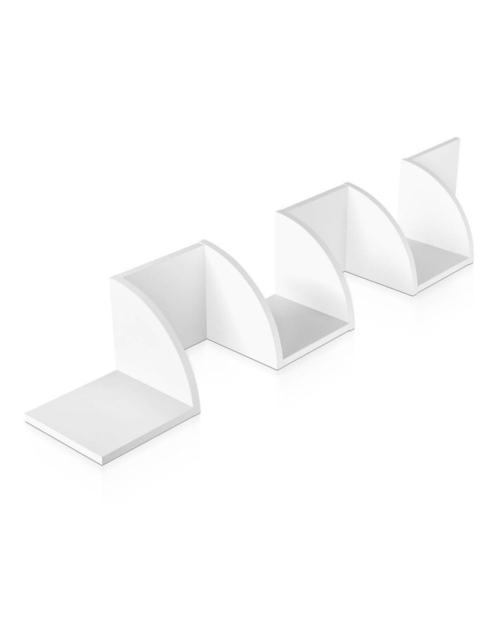 5 Tier Corner Wall Shelf image 4