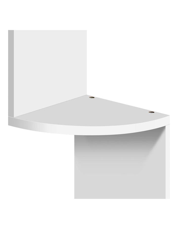 5 Tier Corner Wall Shelf image 6