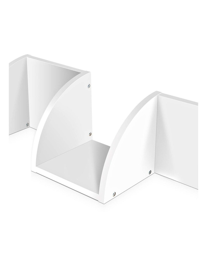 5 Tier Corner Wall Shelf image 7