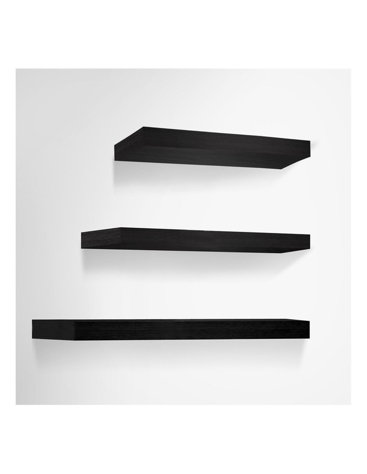3 Piece Floating Wall Shelves image 1