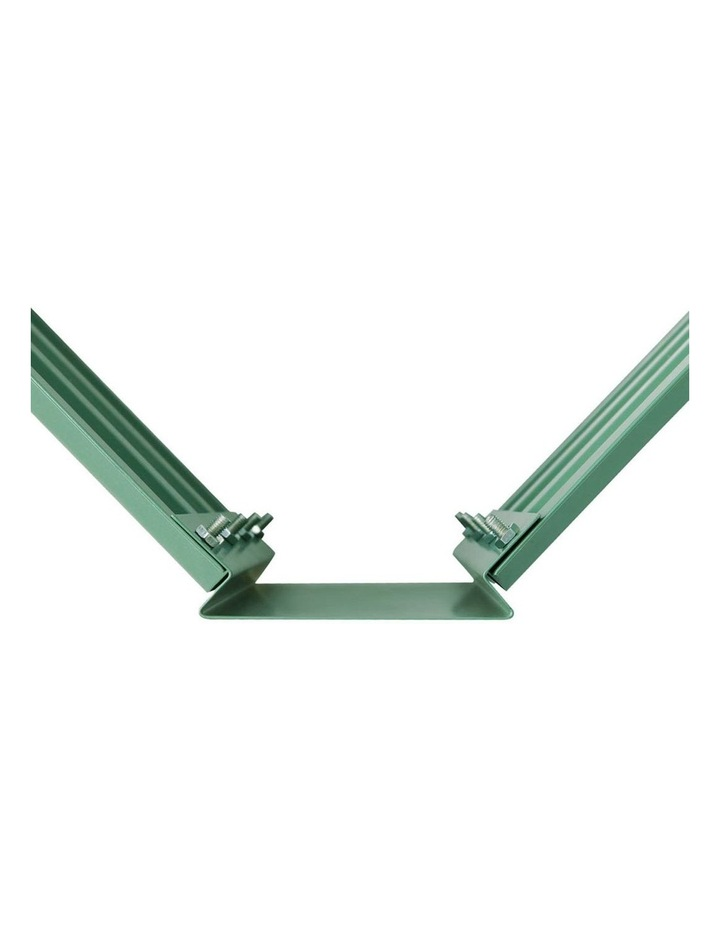 Green Fingers Set of 2 Galvanised Steel Garden Bed image 5