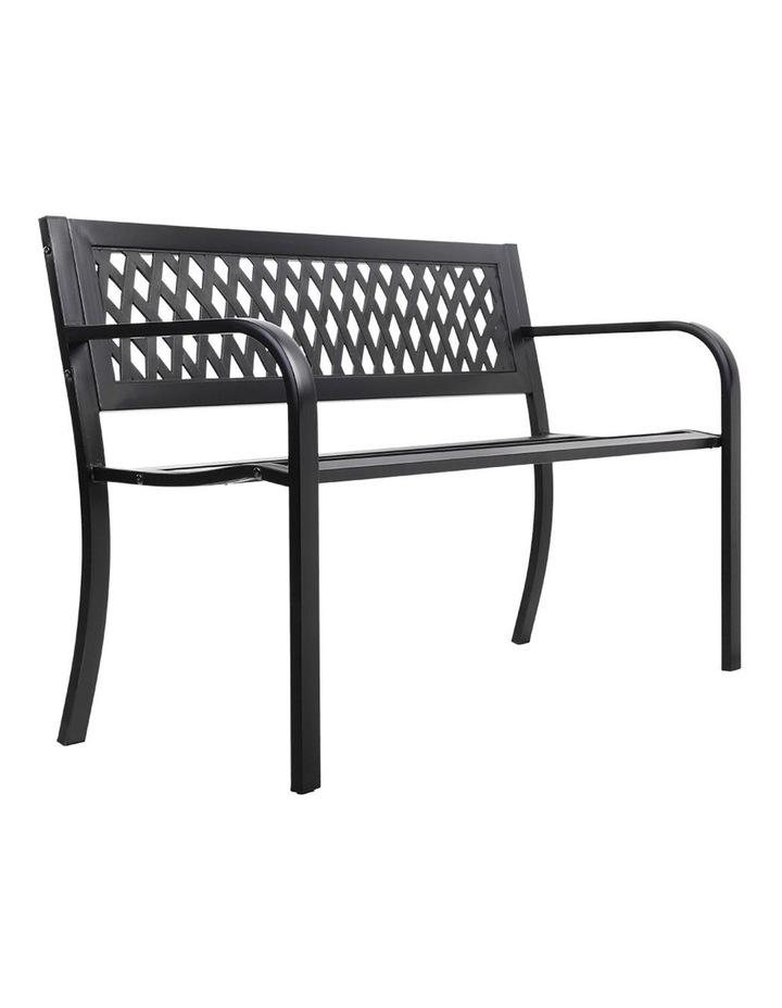 Cast Iron Modern Garden Bench image 3