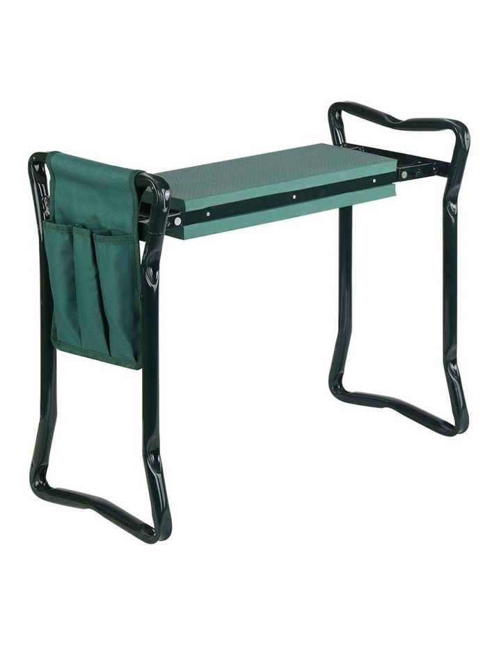 Garden Kneeler and Seat Tool Pouches Outdoor Bench Knee Pad Foldable image 1