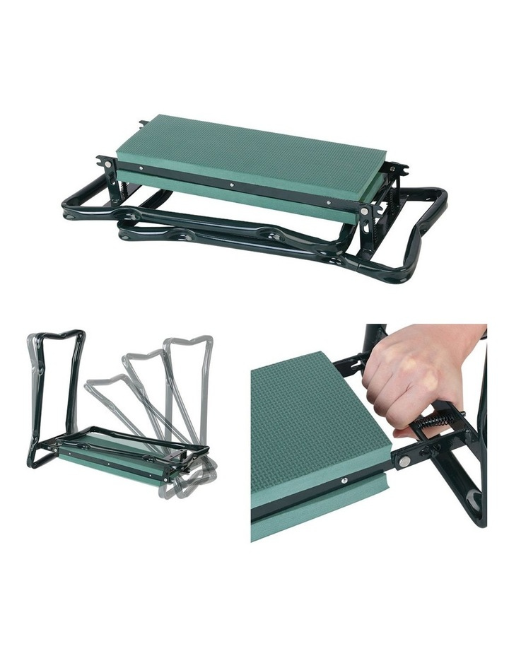 Garden Kneeler and Seat Tool Pouches Outdoor Bench Knee Pad Foldable image 3