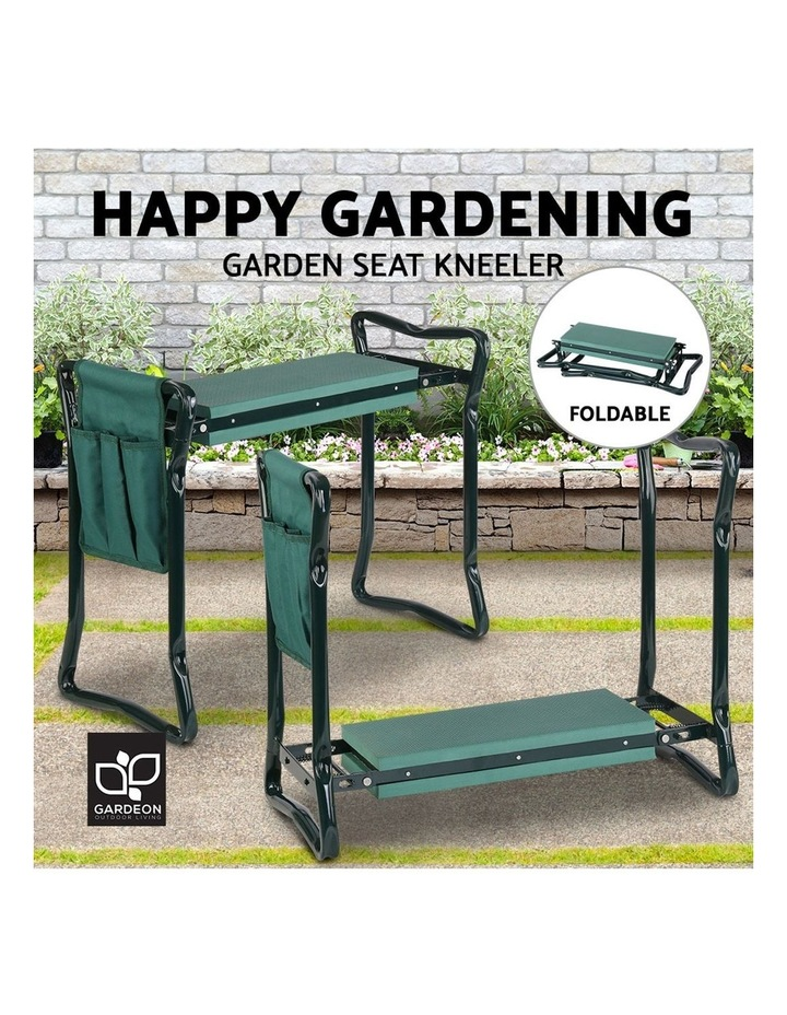 Garden Kneeler and Seat Tool Pouches Outdoor Bench Knee Pad Foldable image 4