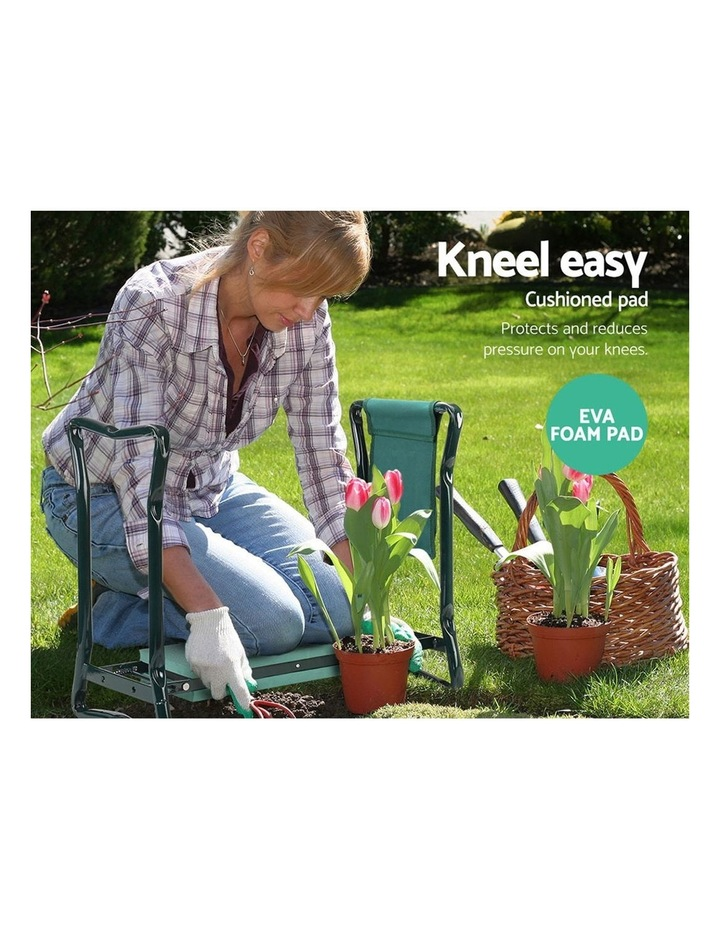 Garden Kneeler and Seat Tool Pouches Outdoor Bench Knee Pad Foldable image 5