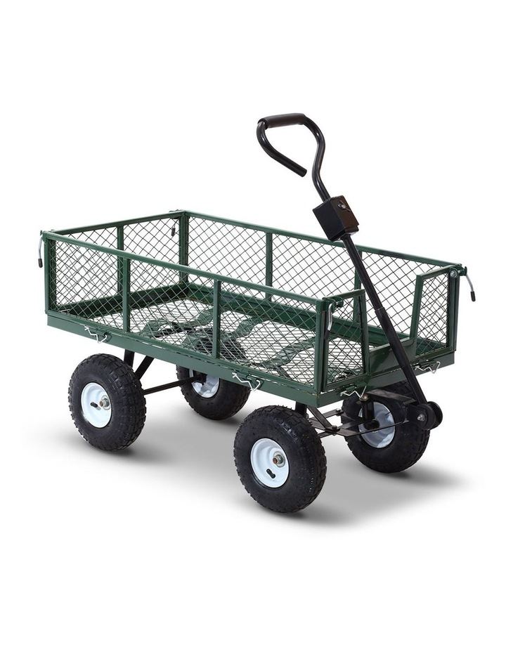 Mesh Garden Steel Cart image 1