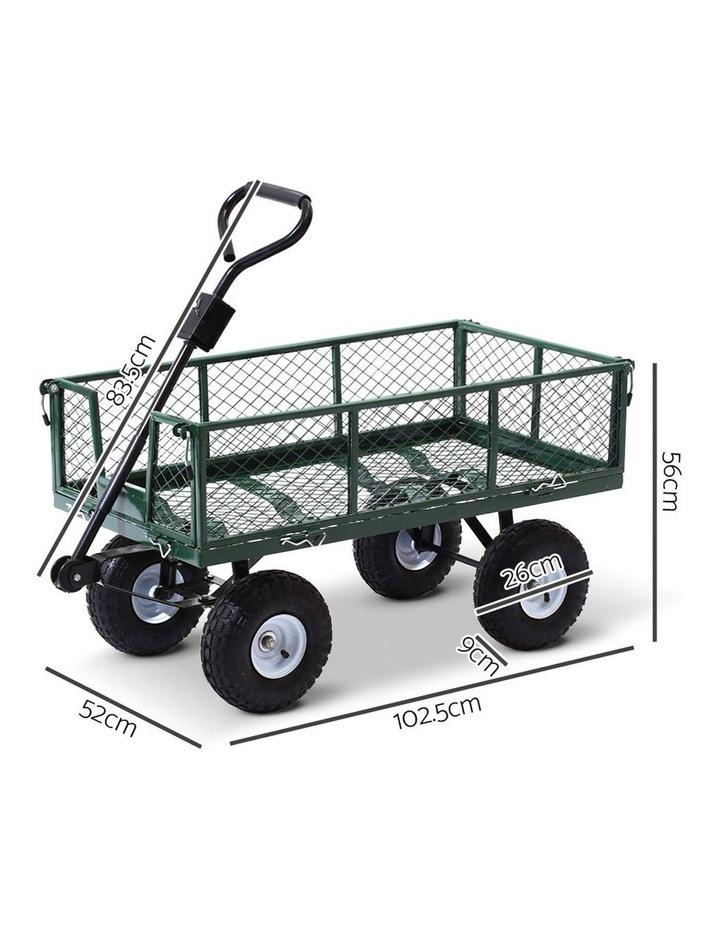 Mesh Garden Steel Cart image 2