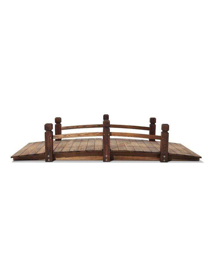 Wooden Rustic Bridge Decoration image 5