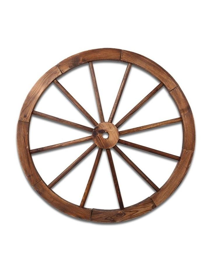 Wooden Wagon Wheel image 4