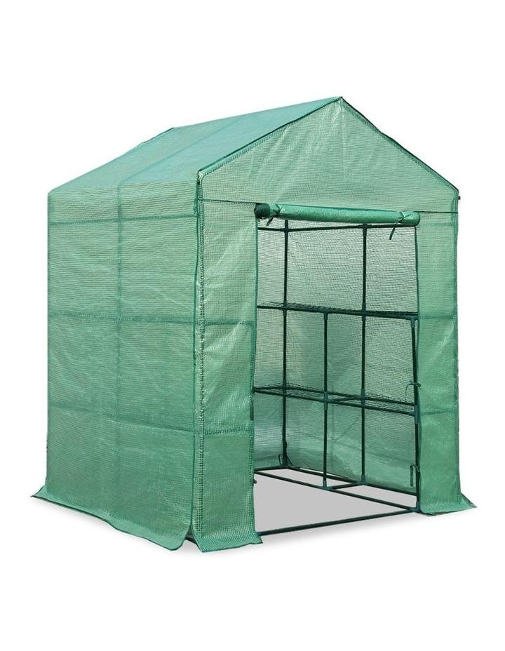 Green Fingers Walk In Greenhouse 1.4 x 1.55m image 1