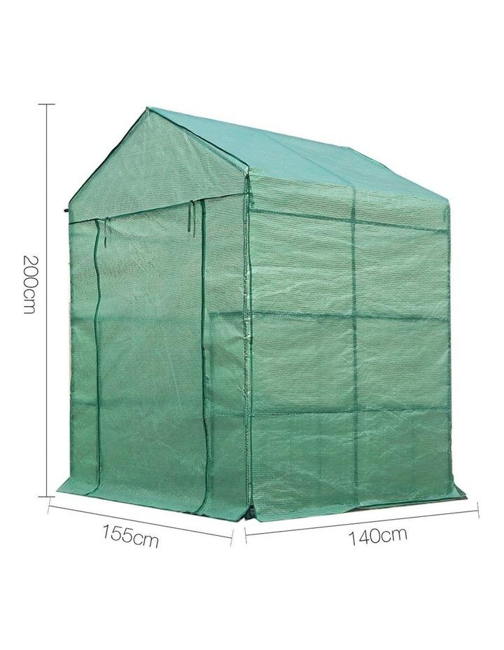Green Fingers Walk In Greenhouse 1.4 x 1.55m image 2