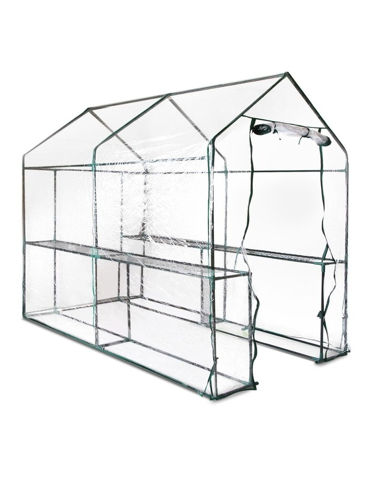 Green Fingers Walk In Transparent Greenhouse 1.9 x 1.2m image 1
