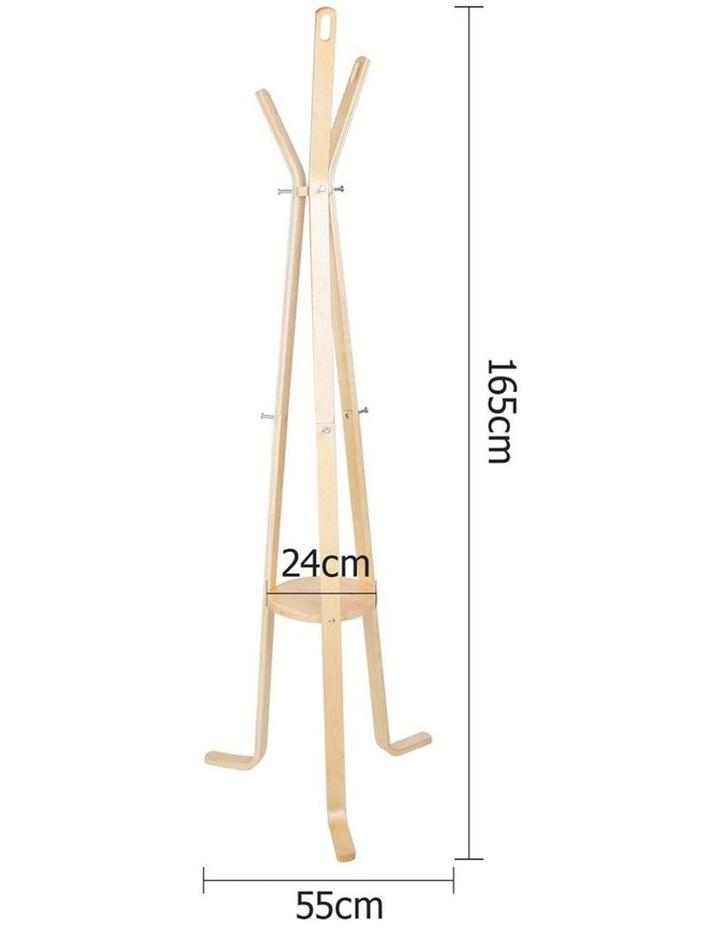 Wooden Coat Hanger Stand image 2