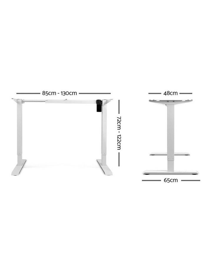 Motorised Height Adjustable Standing Desk Frame image 2