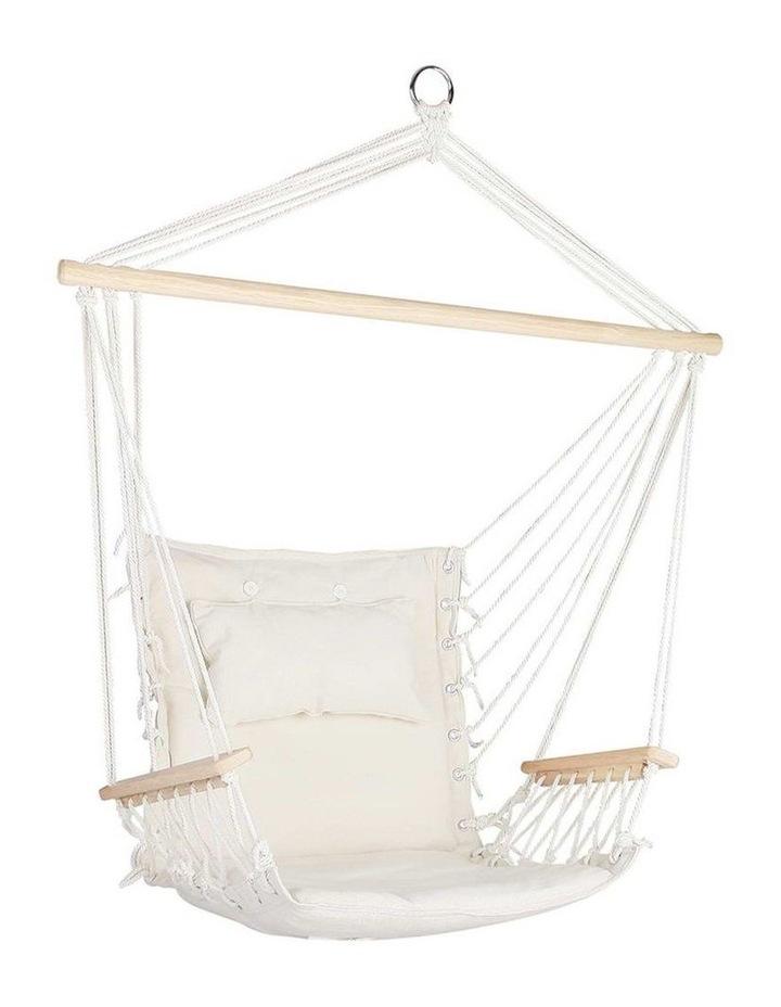 Hammock Hanging Swing Chair - Cream image 1