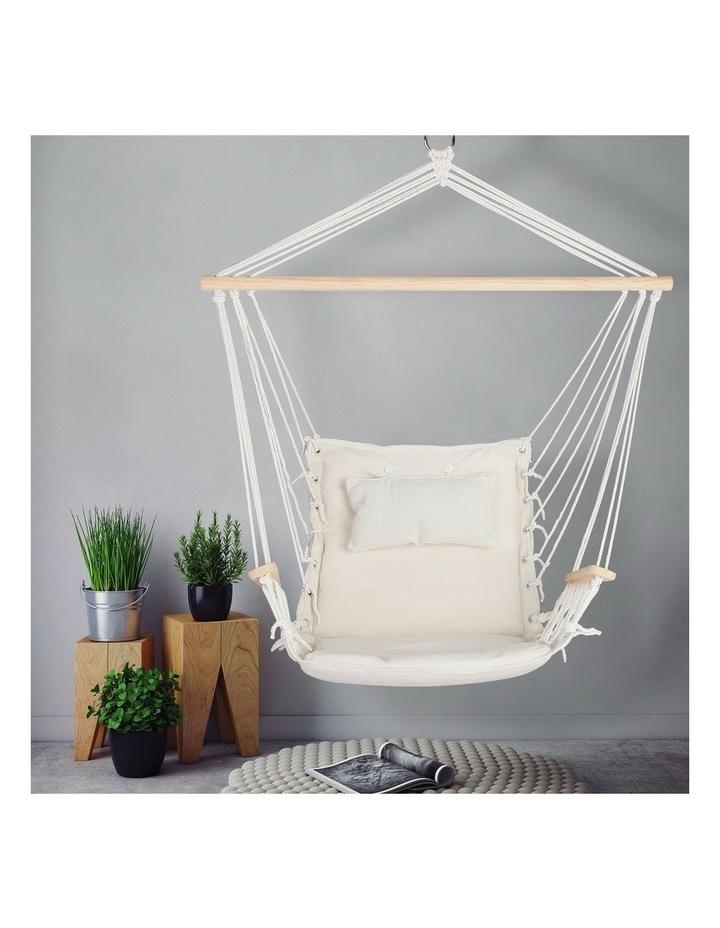 Hammock Hanging Swing Chair - Cream image 3