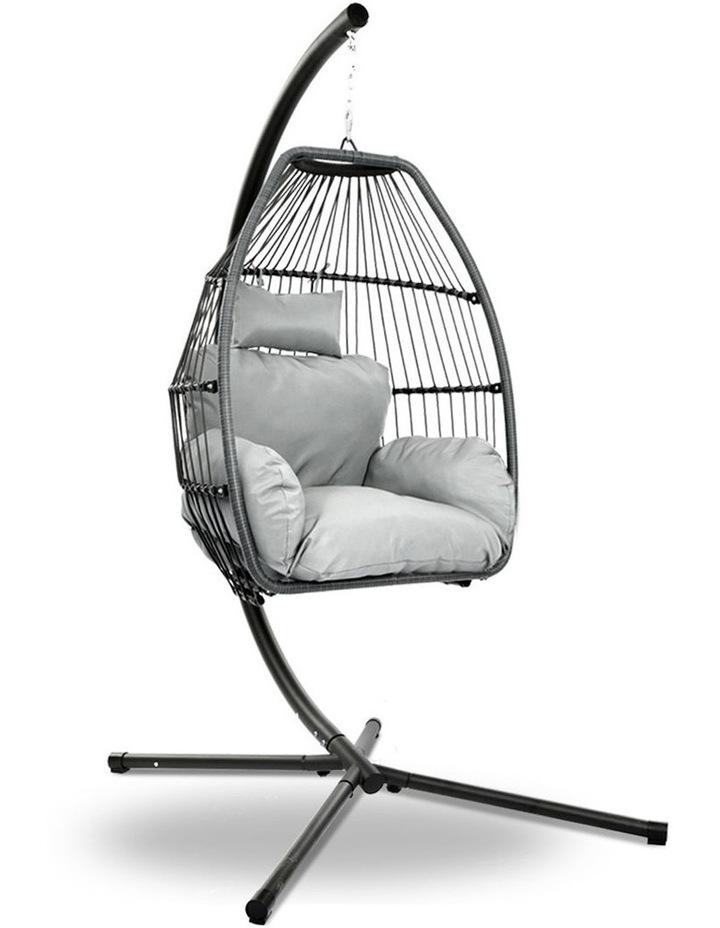 Outdoor Furniture Egg Hammock image 1