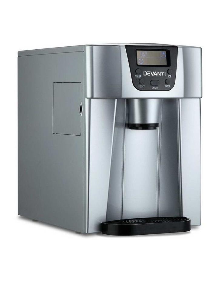 2L Portable Ice Cuber Maker & Water Dispenser image 1