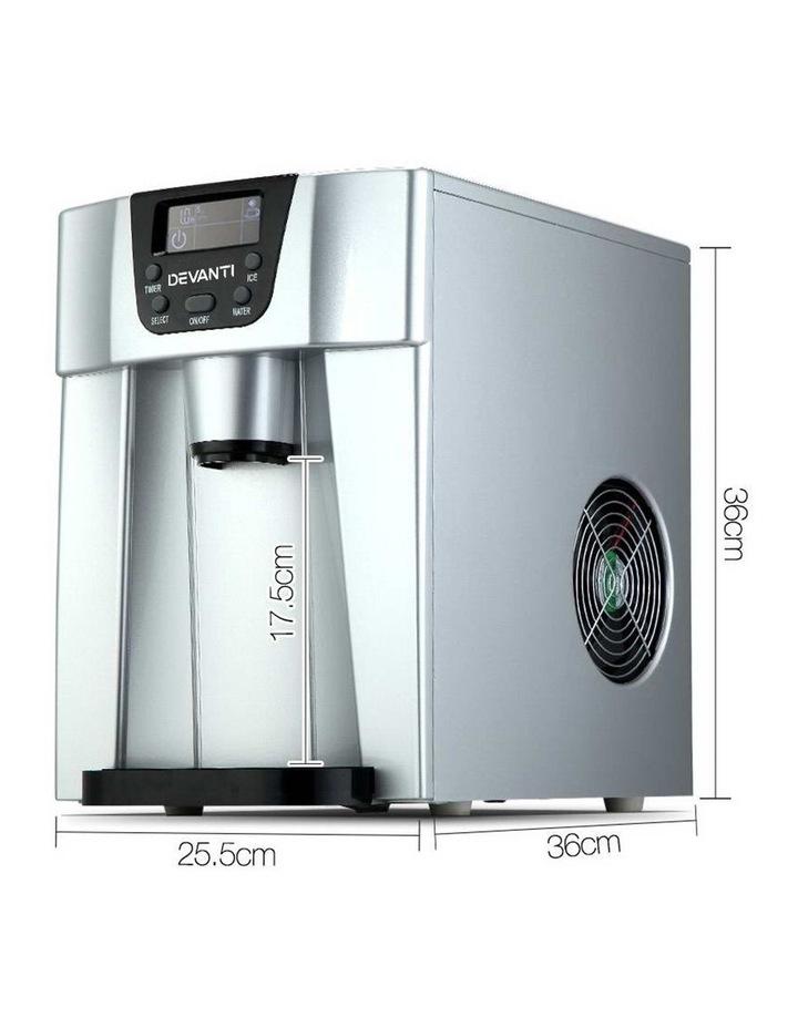 2L Portable Ice Cuber Maker & Water Dispenser image 2