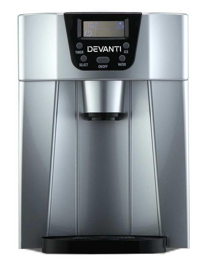 2L Portable Ice Cuber Maker & Water Dispenser image 3