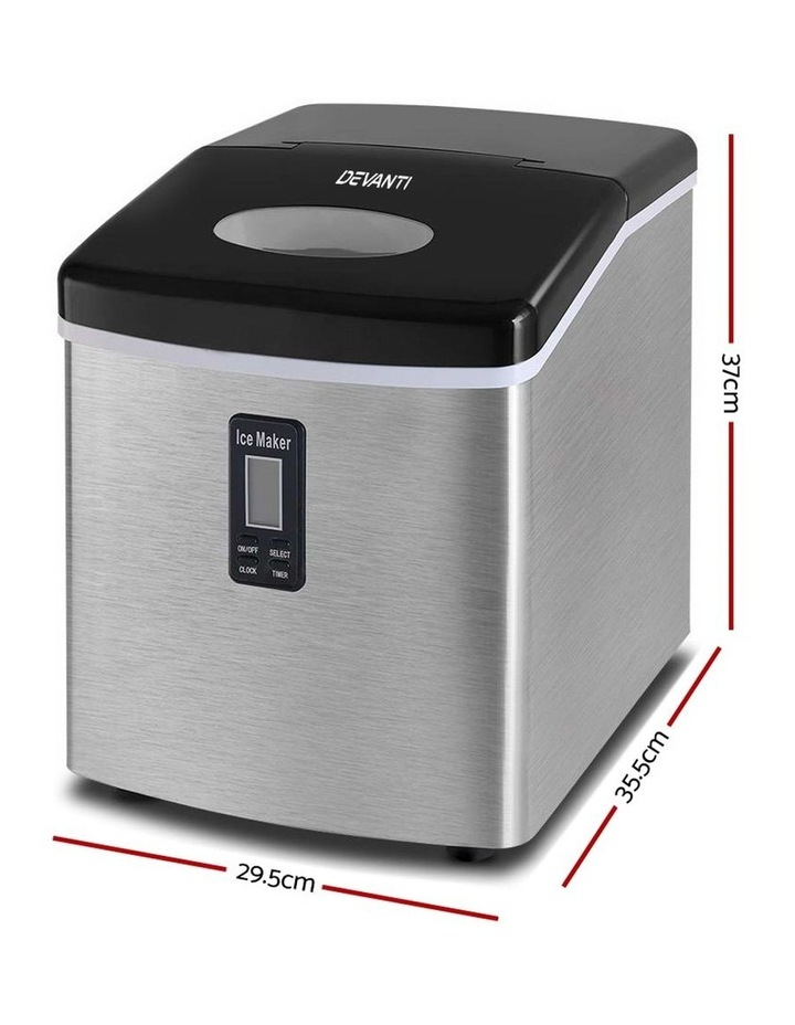 3.2L Stainless Steel Portable Ice Cube Maker image 2