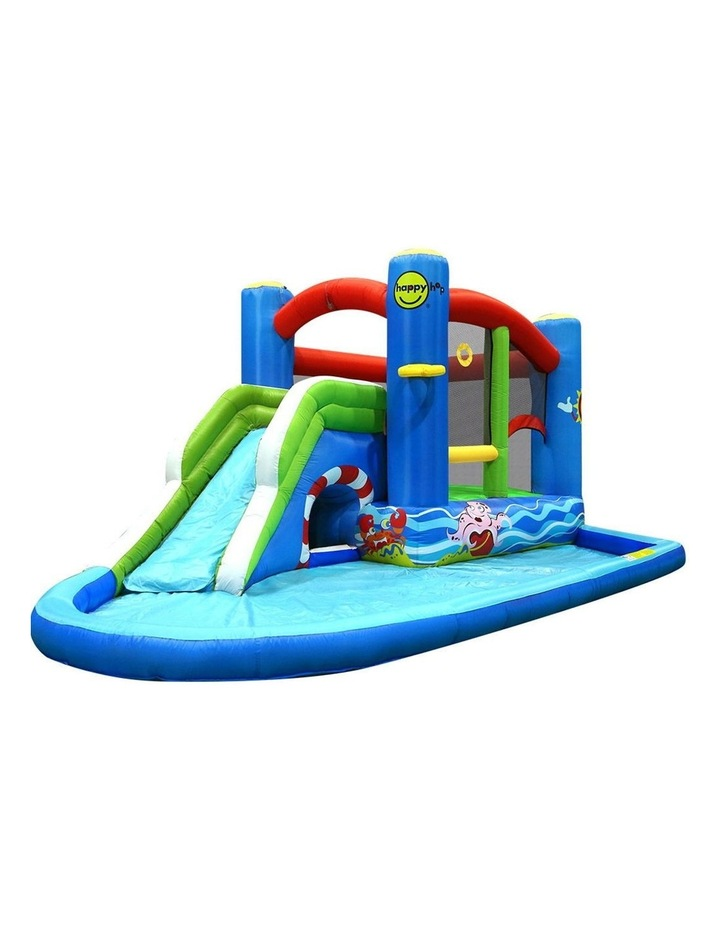 Happy Hop Inflatable Water Jumping Castle Bouncer Kid Toy Windsor Slide Splash image 1