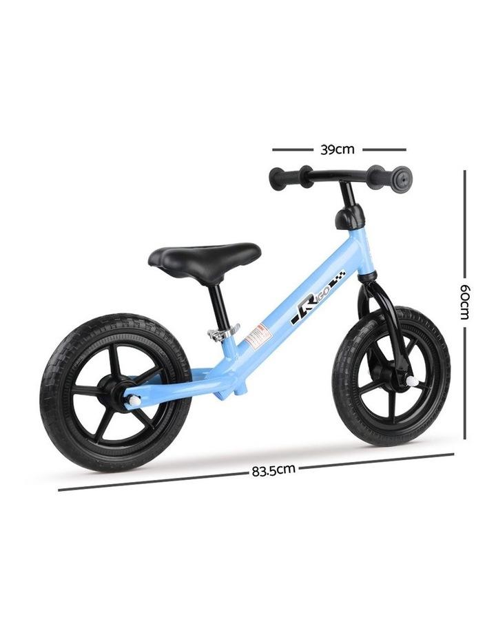 12 Inch Kids Balance Bike - Blue image 2