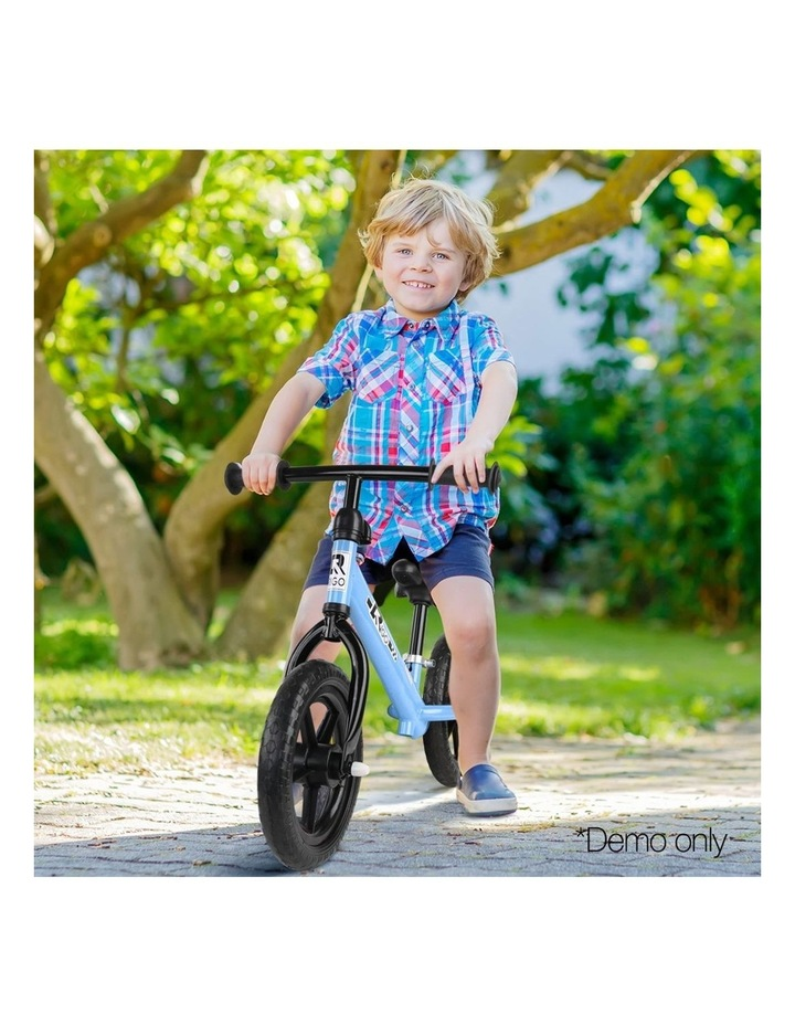 12 Inch Kids Balance Bike - Blue image 3