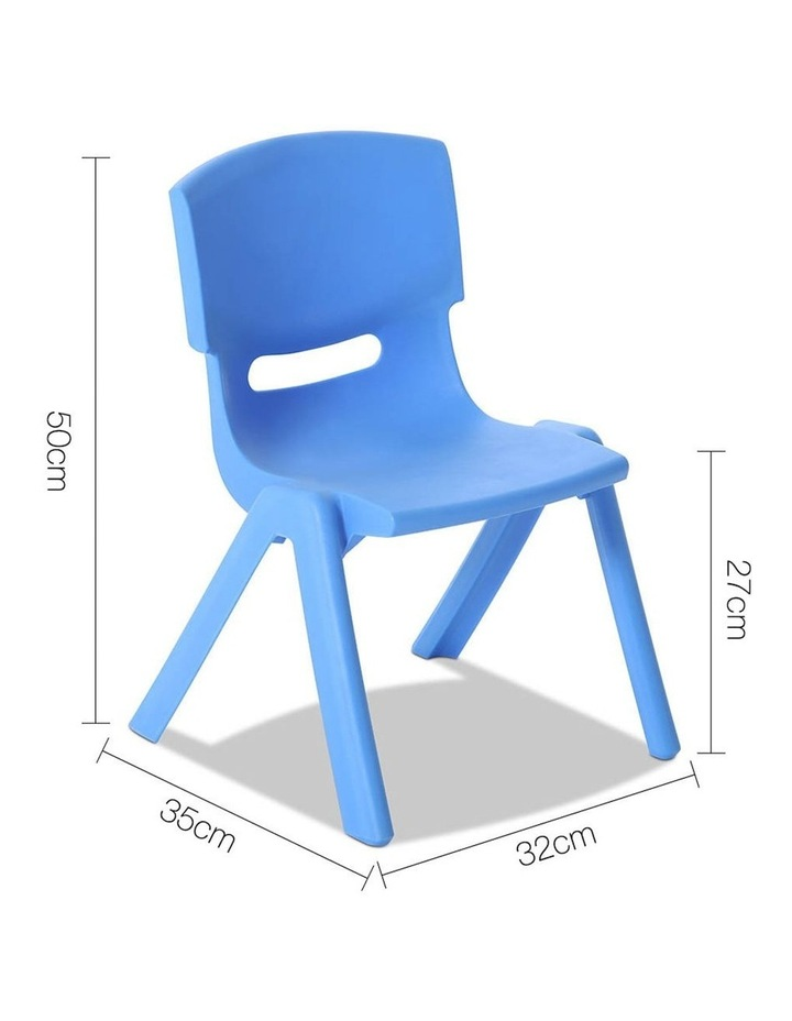 Set of 4 Kids Play Chairs image 2