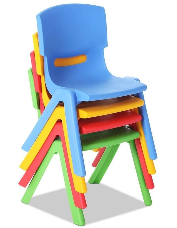 Set of 4 Kids Play Chairs image 3