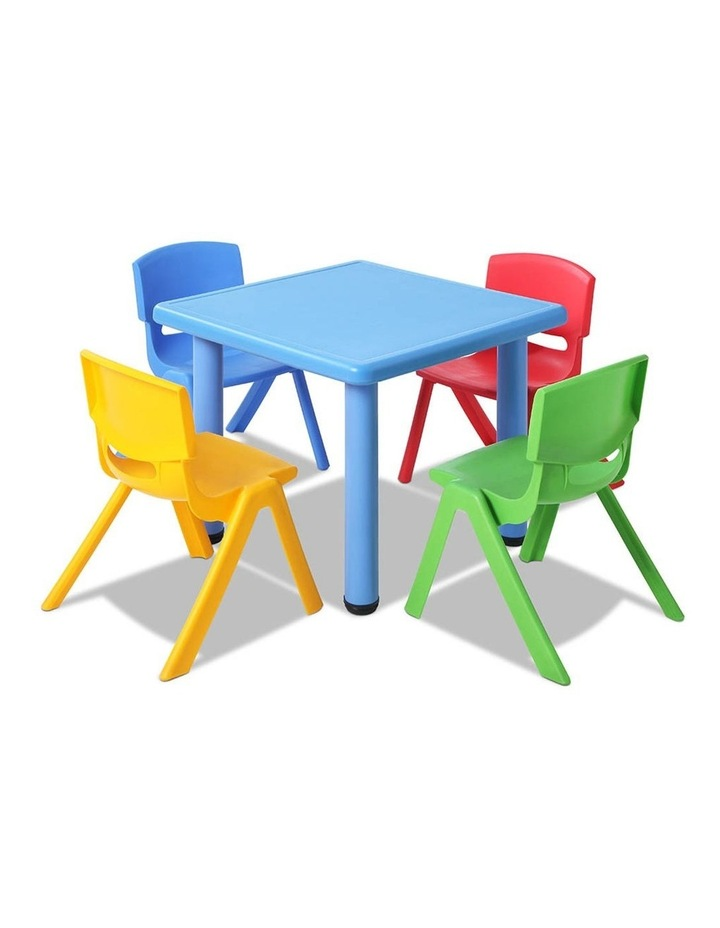 5 Piece Kids Table and Chair Set image 1
