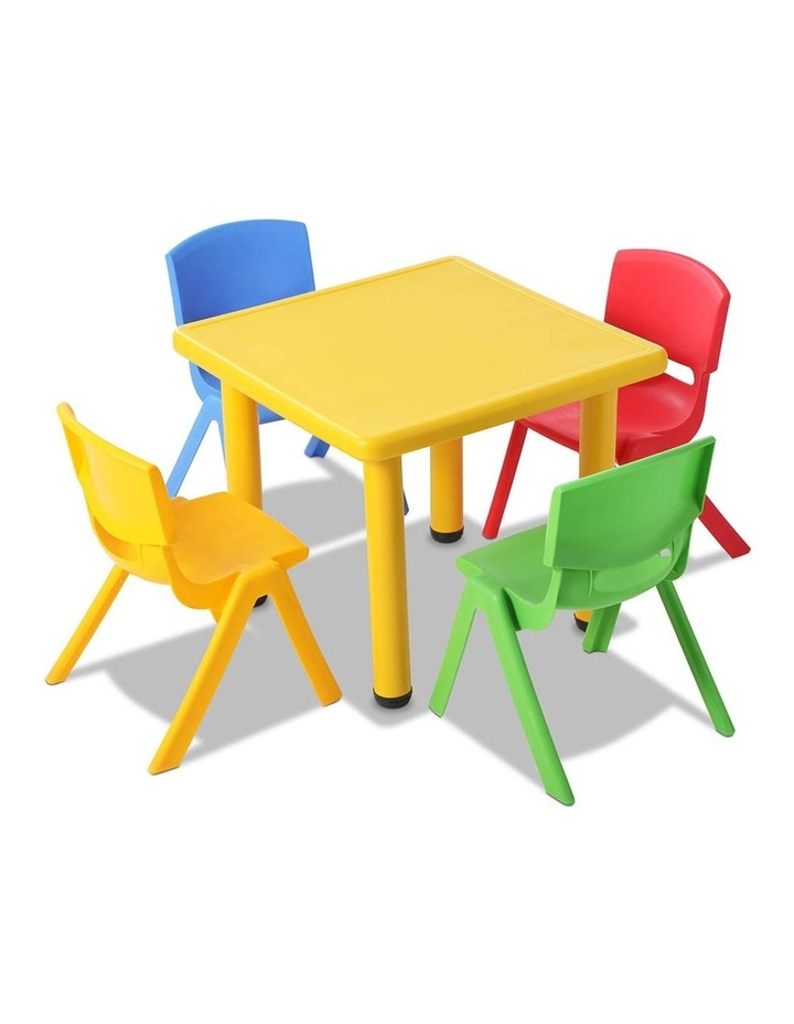 5 Piece Kids Table and Chair Set image 3