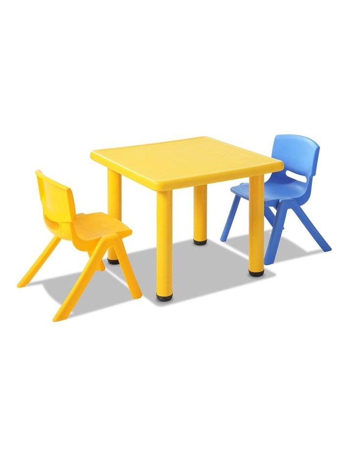 5 Piece Kids Table and Chair Set image 4
