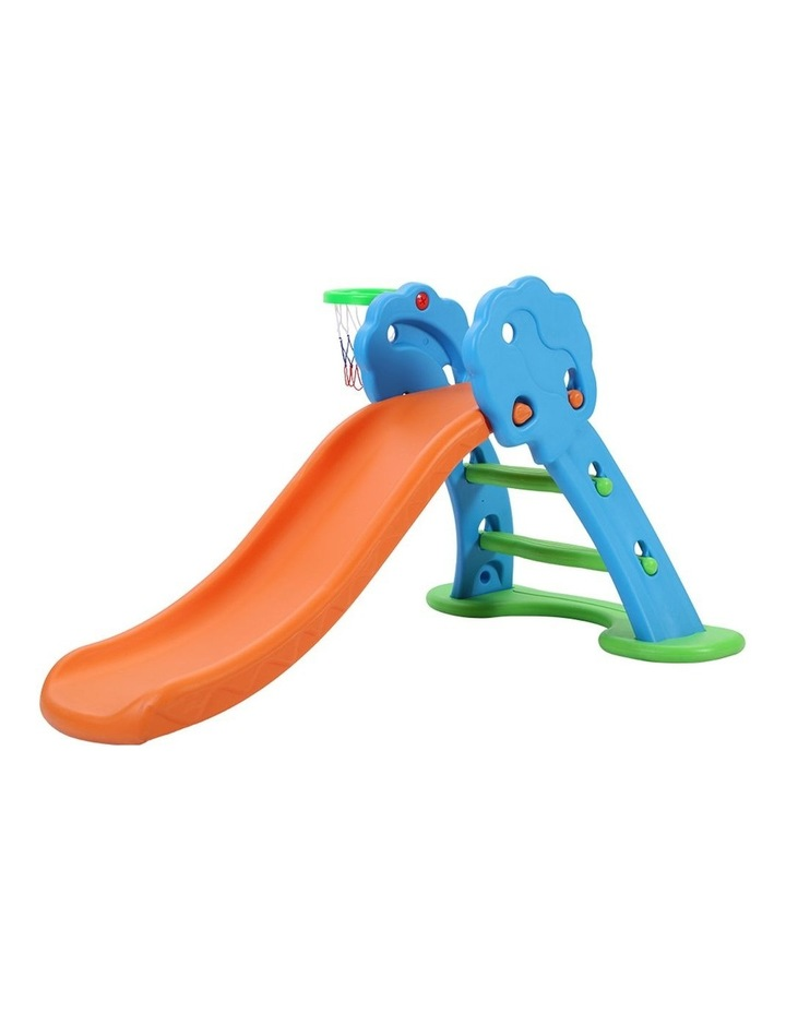 Slide with Basketball Hoop Outdoor Indoor Playground Toddler Play image 3