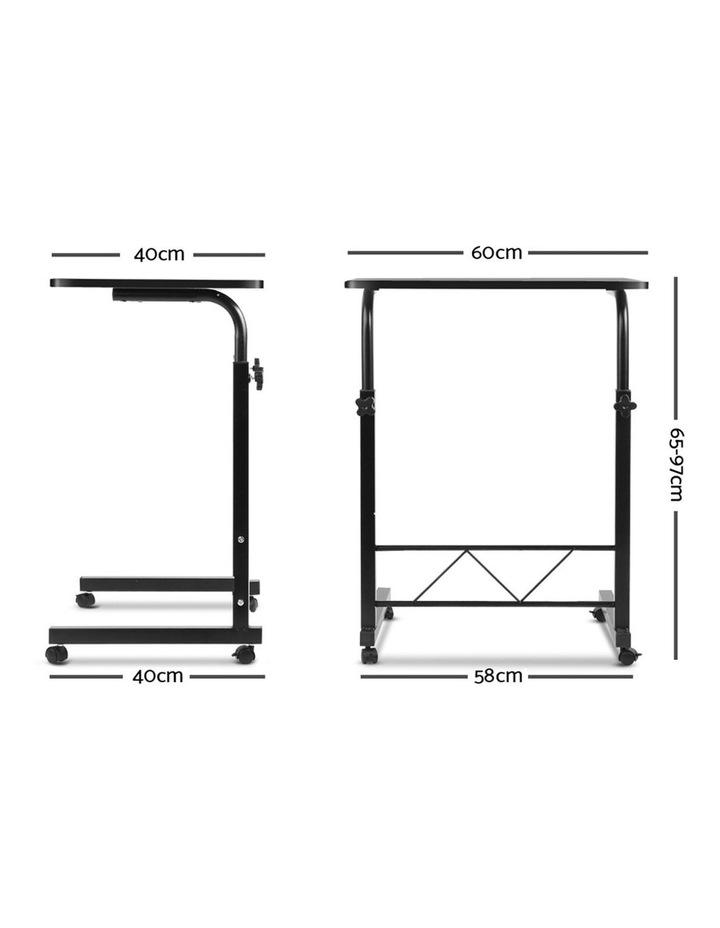 Portable Adjustable Wooden Latpop Stand image 2