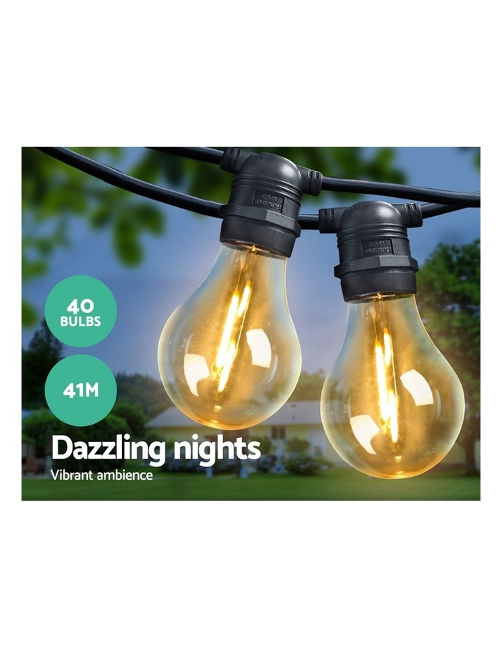 Jingle Jollys 41m LED Festoon String Lights Kits Wedding Party Christmas Outdoor Party image 3