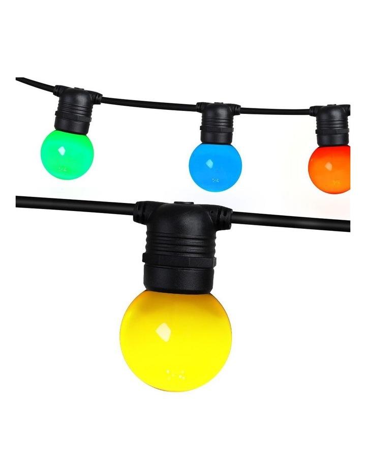 Jingle Jollys 23m LED Festoon String Lights Kits Wedding Party Multi-Color image 1