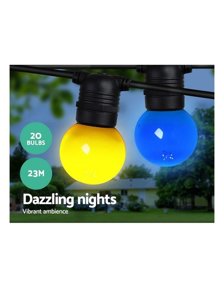 Jingle Jollys 23m LED Festoon String Lights Kits Wedding Party Multi-Color image 3