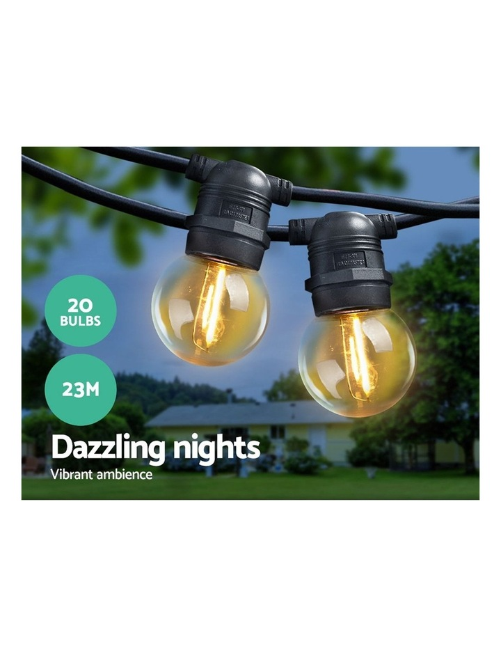 Jingle Jollys 23m LED Festoon String Lights Kits Wedding Party Warm White image 3