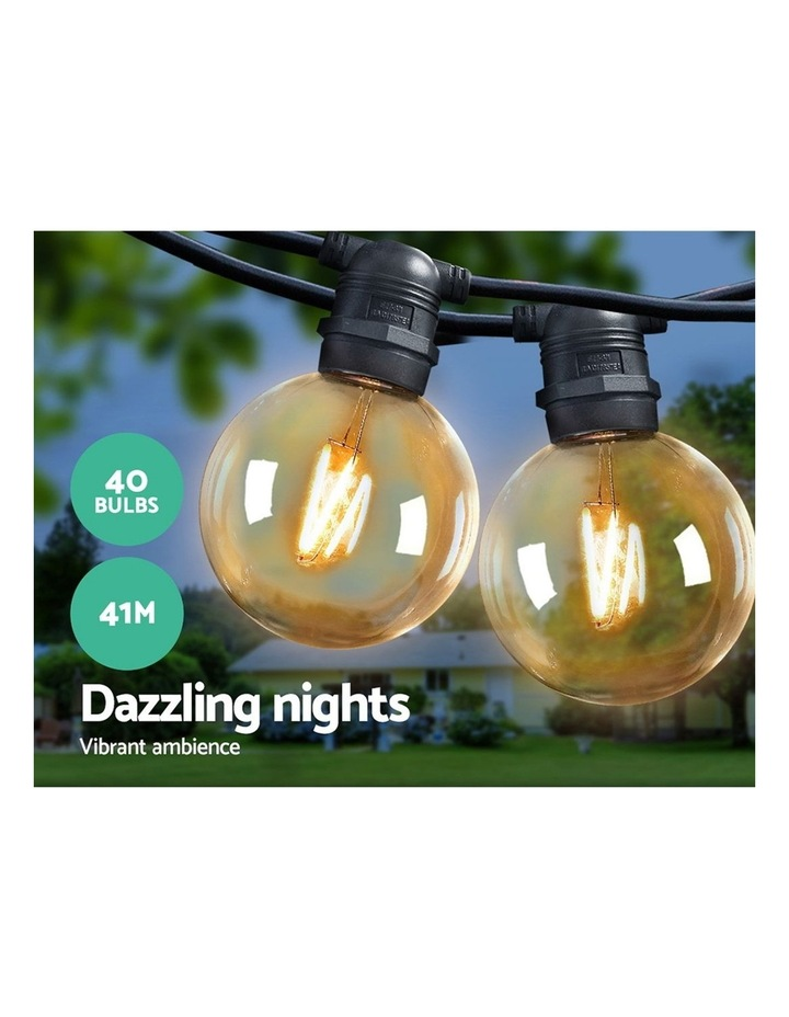 Jingle Jollys 41m LED Festoon String Lights Kits Wedding Party Christmas Outdoor Party Ambience Love image 3
