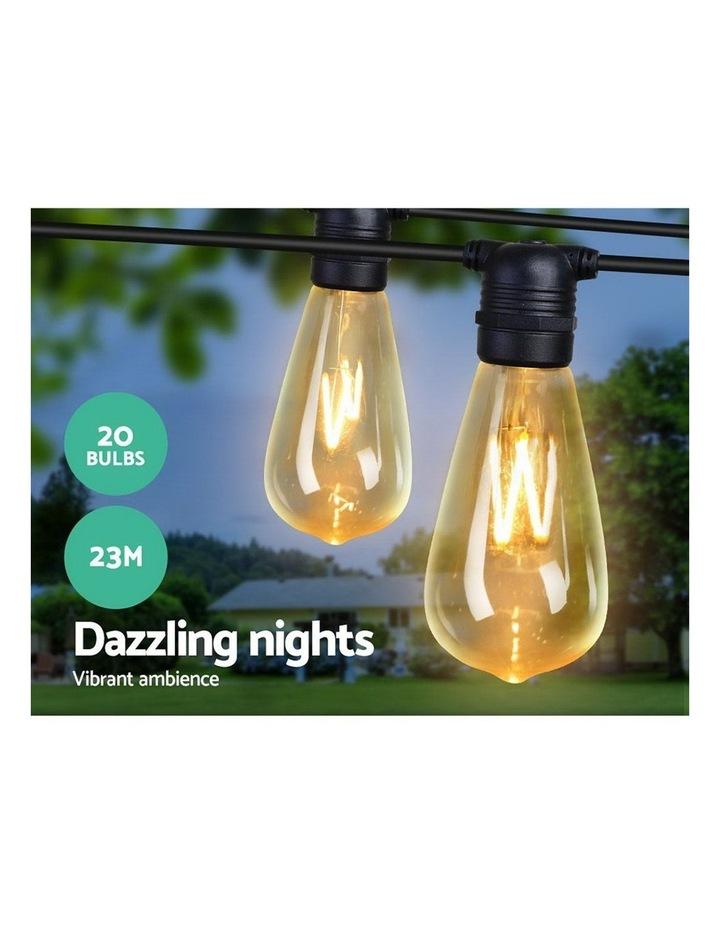 Jingle Jollys 23m LED Festoon String Lights Kits Wedding Party Christmas Outdoor Noel Xmas image 3