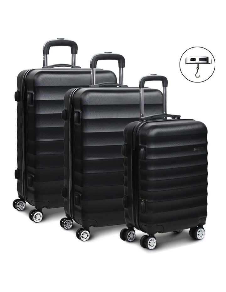 3 Piece Luggage Trolley Set image 1